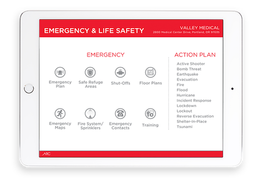 Emergency & Life Safety Dashboard