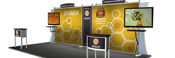 Trade Show Booth Graphic Design : How to choose a trade show booth and layout that attracts visitors arc