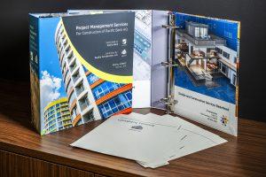 custom made binder with custom dividers